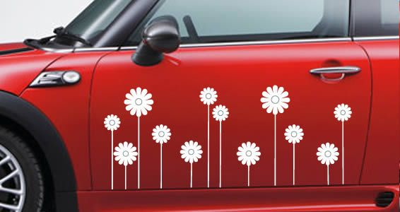 Daisys Car DecalsLove Lovejust Not On The Side Of My Car - Modern car sticker decal