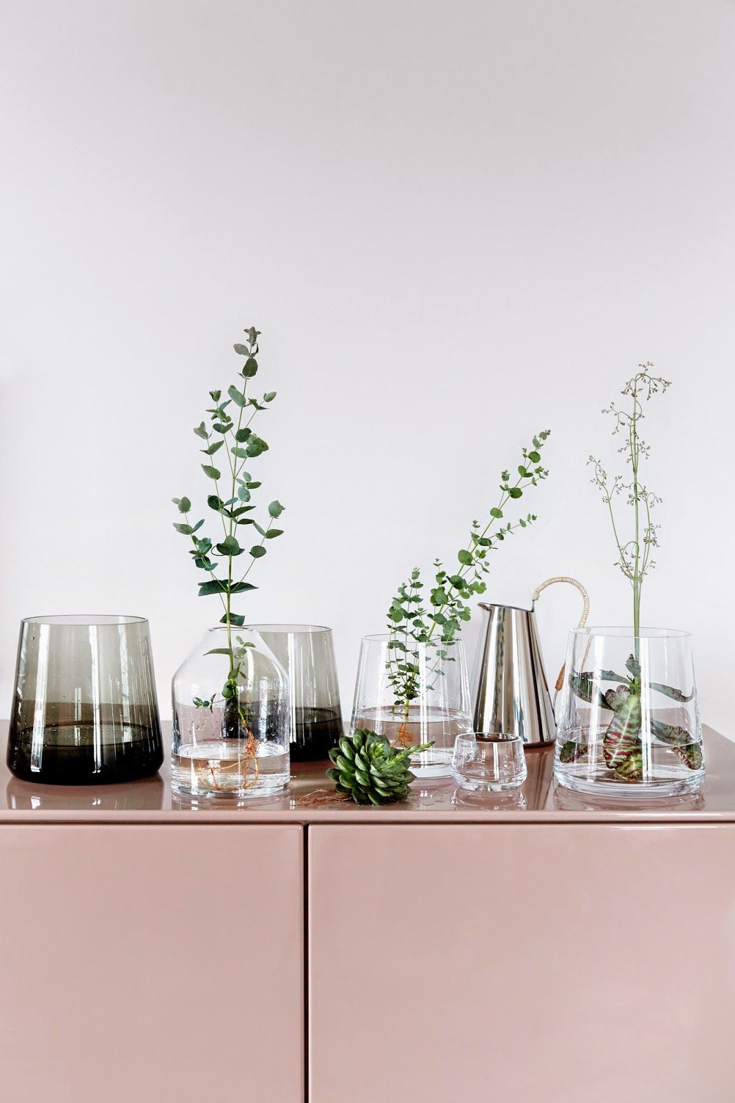 Home decor plants ideas  When pictures inspired me   Interiors Small space living and