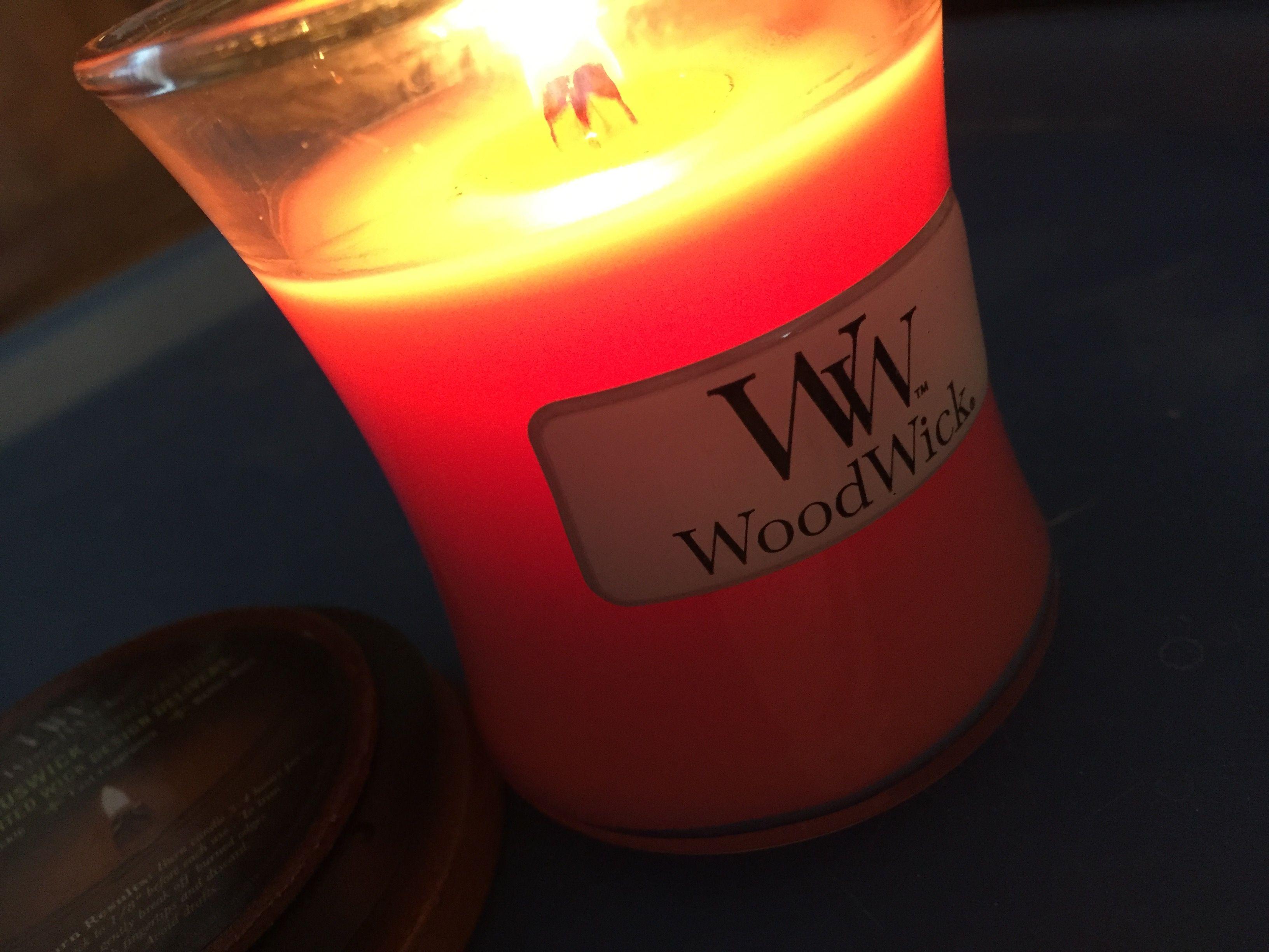 Woodwick berry sorbet small jar erikaus candles pinterest