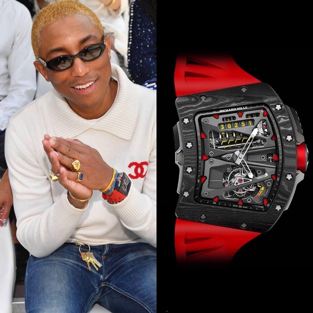 Risultati immagini per Richard Mille RM 70-01 Tourbillon pharrell