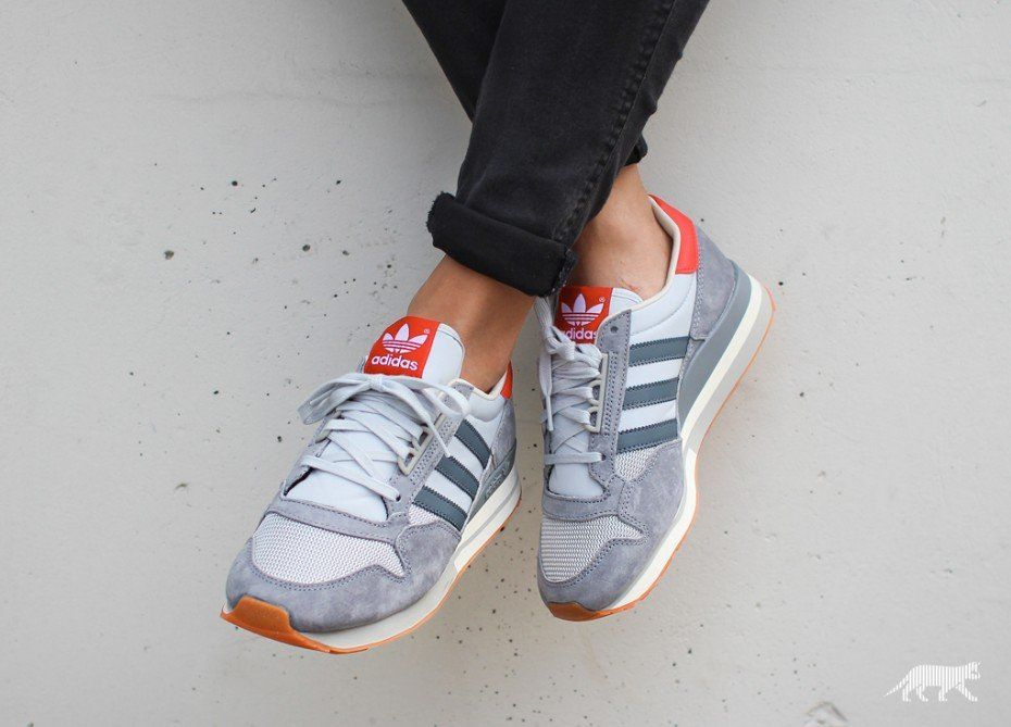 best website 11a22 3eb36 adidas ZX 500 OG W (Grey   Onix   Collegiate Red)