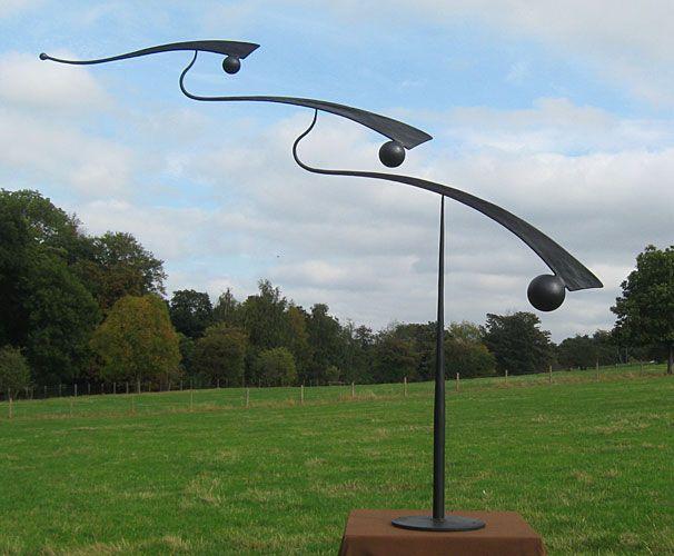 Mobile Sculpture For A Garden Kinetic Art