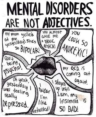 I Fucking Cringe Every Time Someone Uses A Mental Disorder