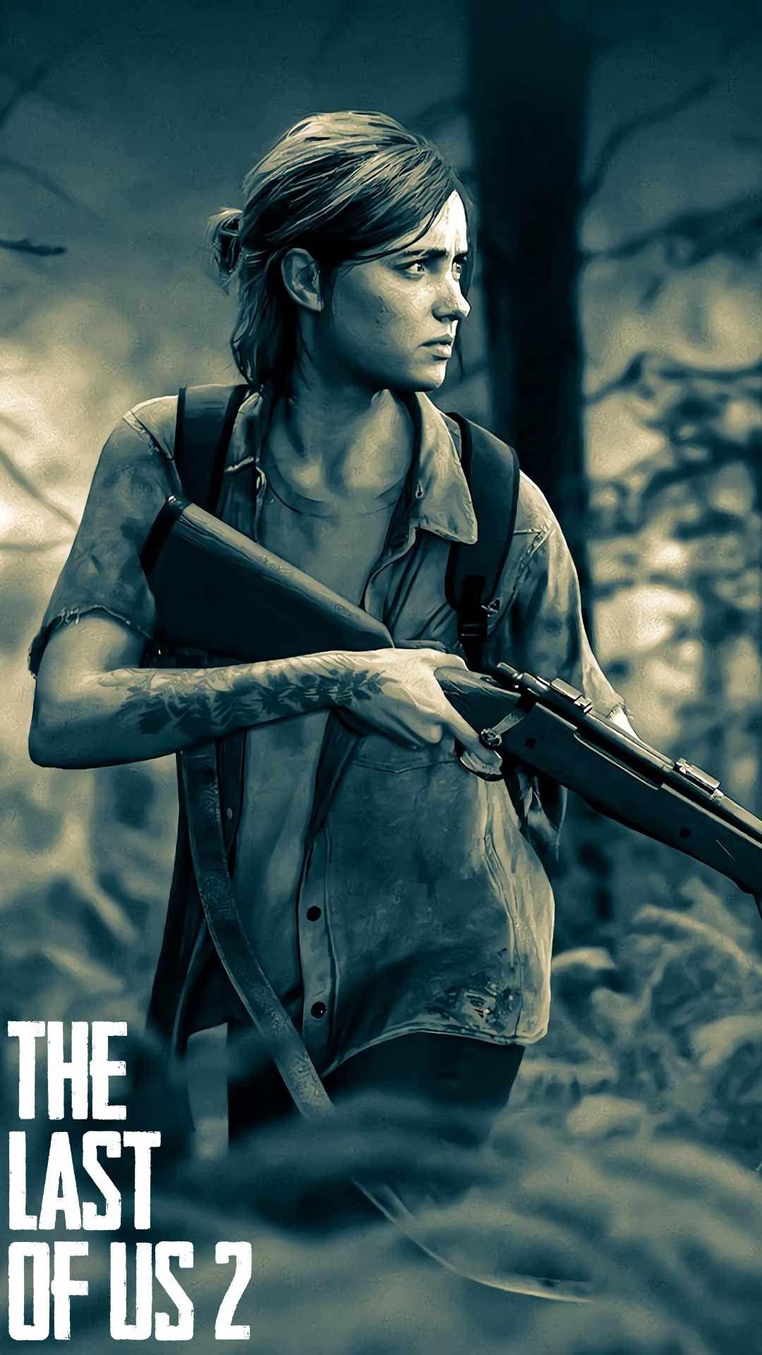 The Last Of Us Part 2 Wallpaper Hd Phone Backgrounds Ps4 Game Art Poster On Iphone Android Em 2020 Papeis De Parede De Jogos Arte De Jogos Desenhos Profissionais