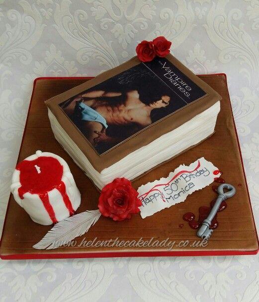 Vampire Diaries Book Birthday Cake The Vampire Diaries