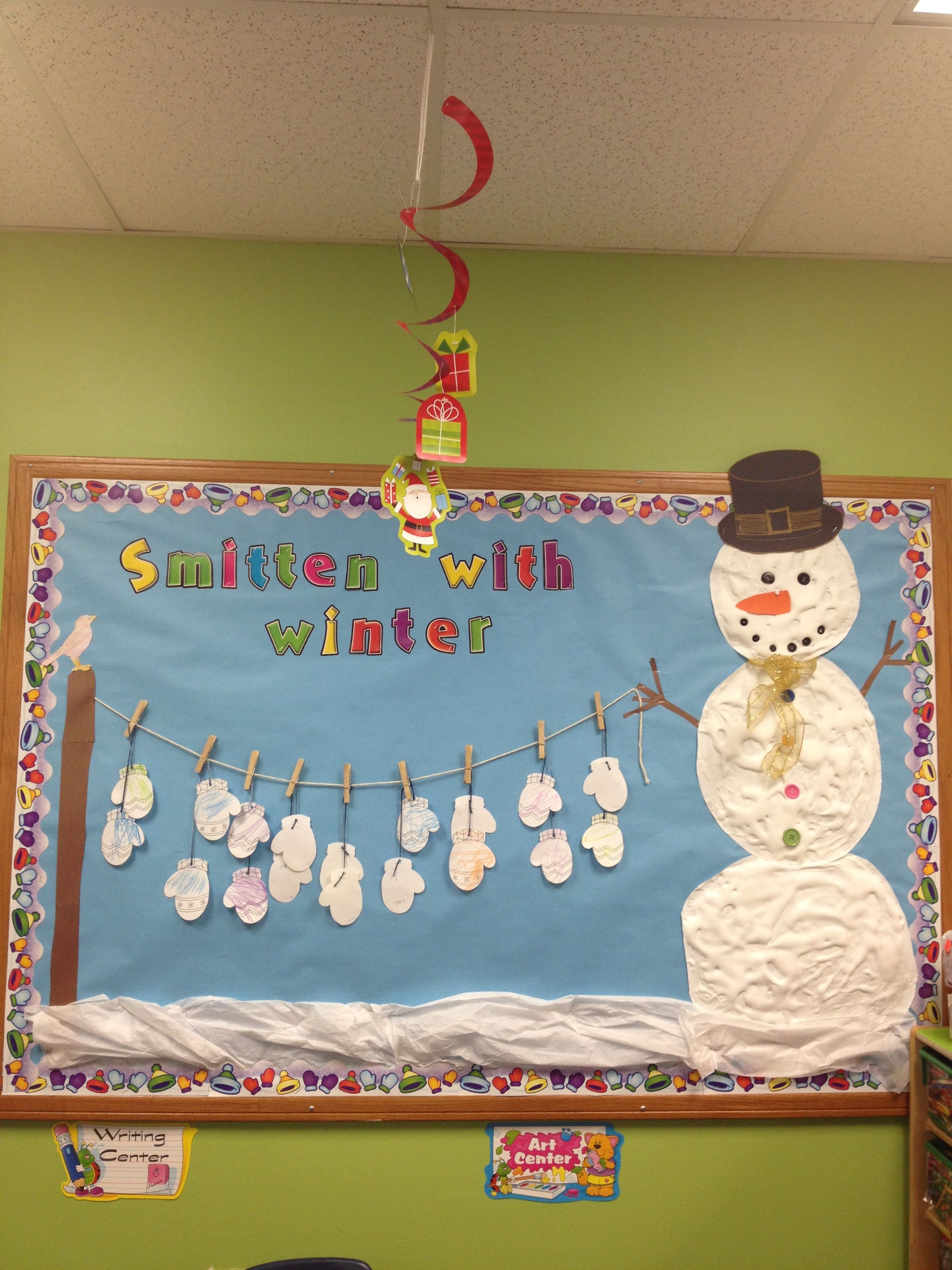 Winter Bulletin Boards Ideas Pinterest - My winter bulletin board marcia and i came up with