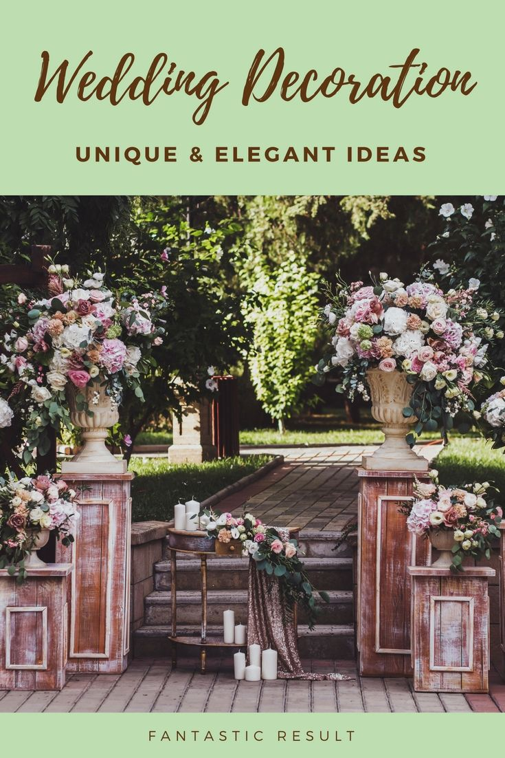 Latest wedding decor ideas  Design Your Current Wedding Dinner With The Help Of These Latest