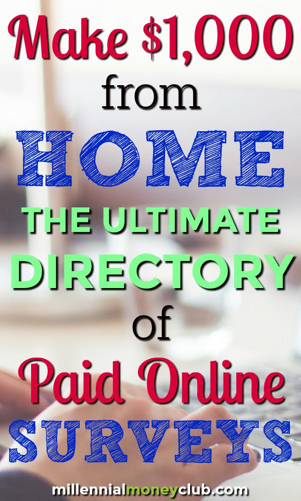 Top 2 Legit Survey Sites That Pay Cash | Make Money At Home