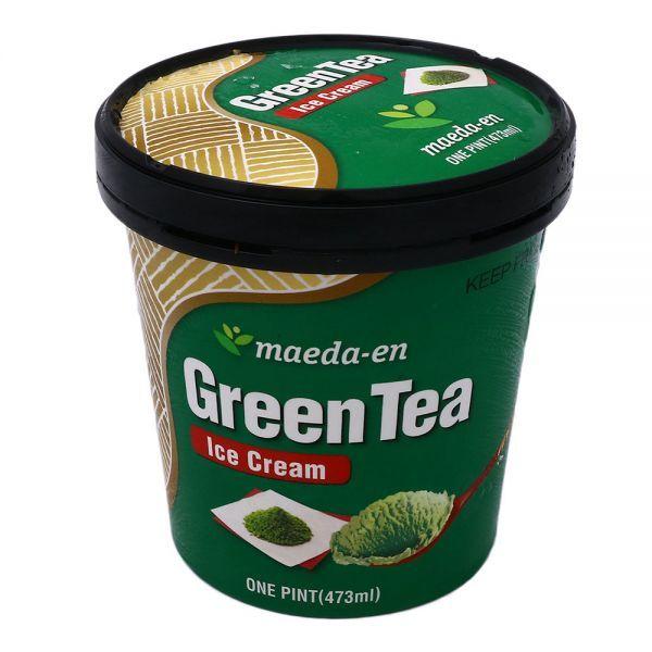 Photo of green tea ice cream