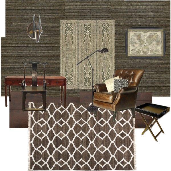 Home Office 3 By Georgicapondblog On Polyvore Featuring Interior Interiors Design Ed Baueroficinas