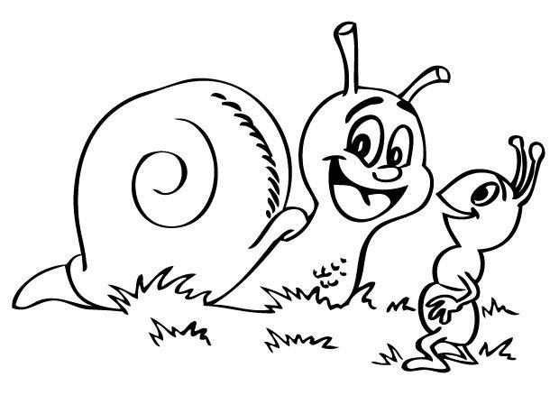 Escargot, coloriage escargot, coloriages escargots ...