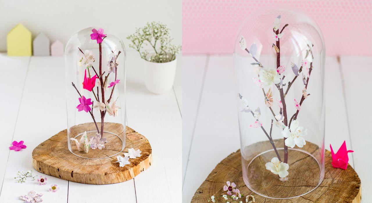 Un arbre à origamis