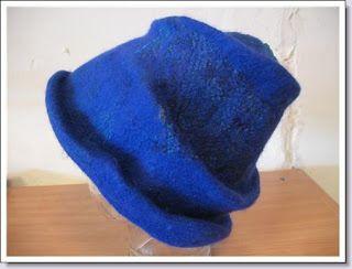 Atelier Kleurrijk Vilt: Vilten hoed ............