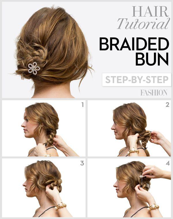Latest Simple Eid Hairstyles Step by Step Tutorials   Hair ...