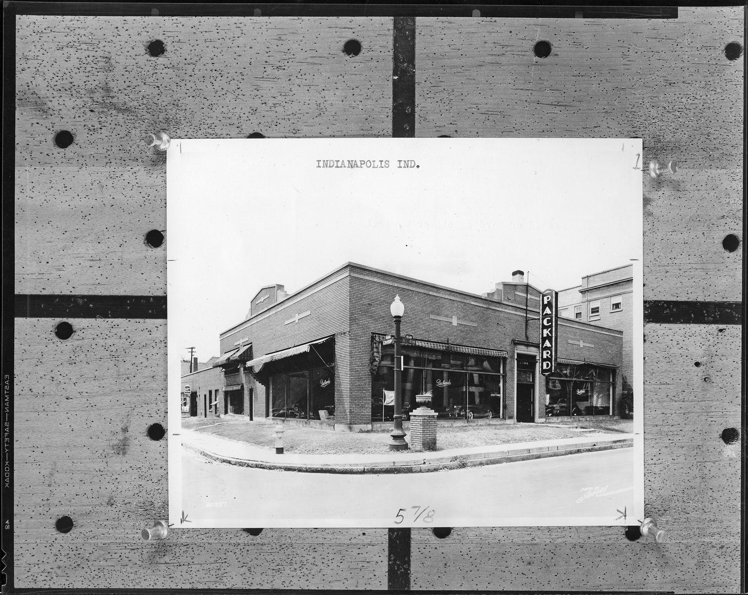 Packard dealership, Indianapolis, Indiana, 1941 DPL DAMS