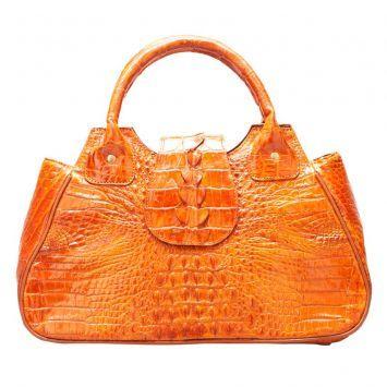 Bring B503 - Túi da cá sấu / Vàng