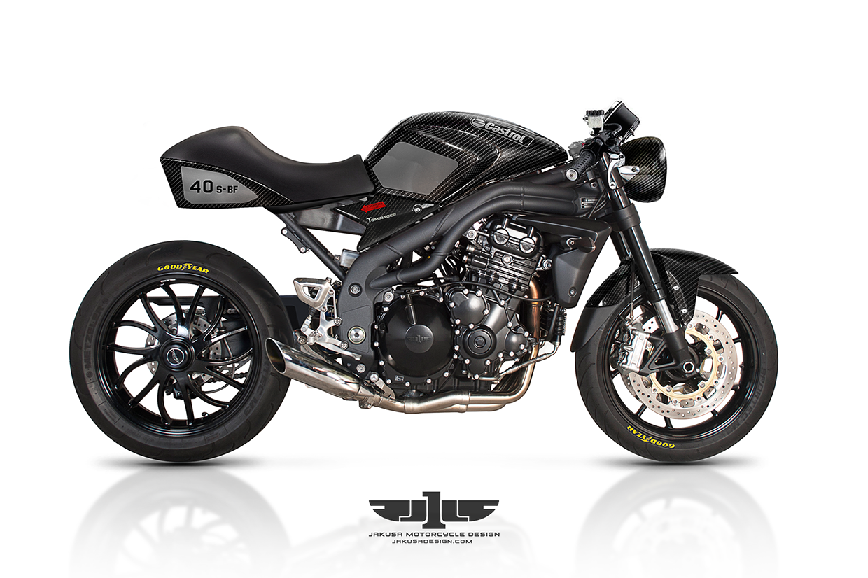 """Triumph Speed Triple"" by Jakusa Design 3a8b52ab4715b234da77dbbf6d3980f4"