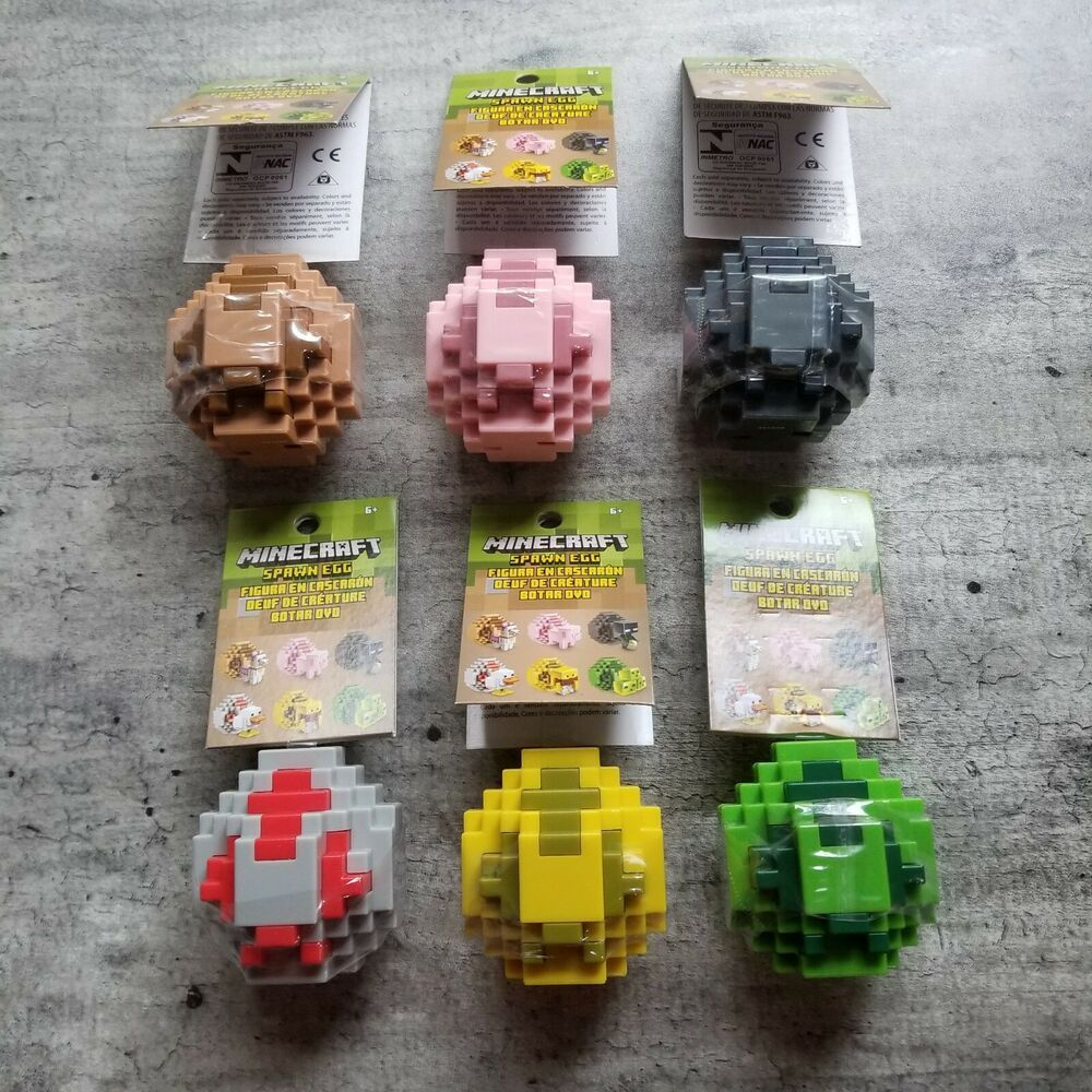 d6356ea0358412 Minecraft Spawn Egg. Llama, Pig, Enderman, Chicken, Blaze, Slime ...