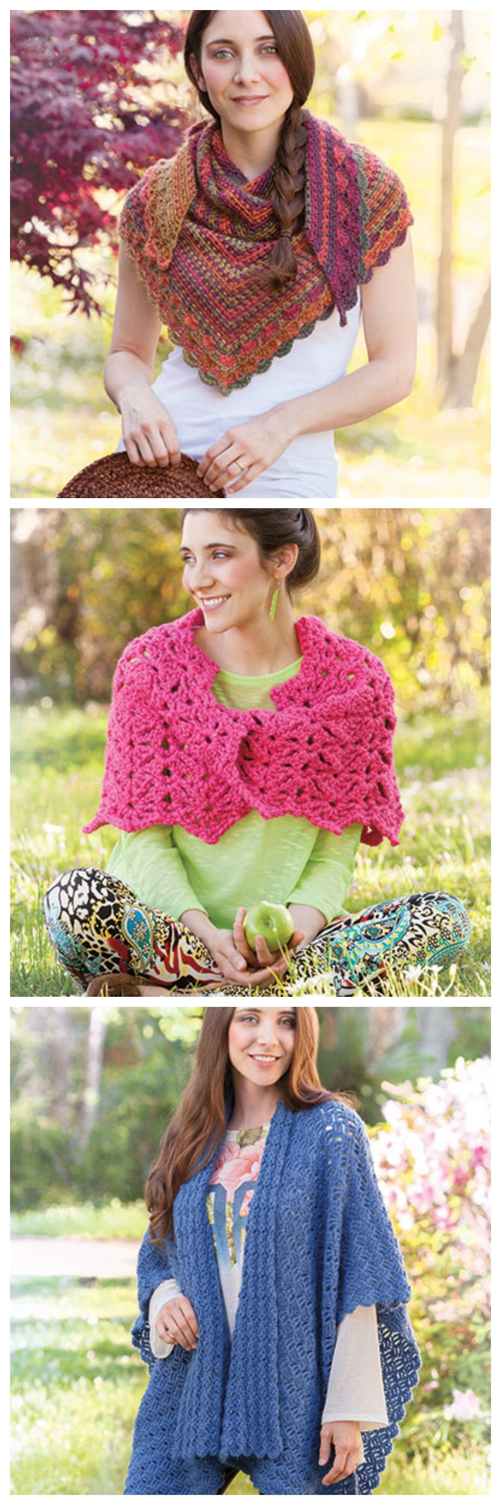 Wraps for All Seasons crochet pattern book from Annie\'s Craft Store ...