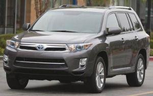 2012 Toyota Highlander Hybrid Limited Suv Toyota Highlander