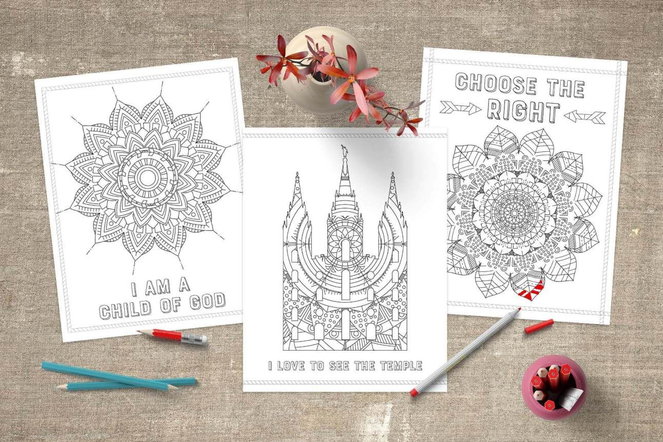 Lujoso Lds Amigo Para Colorear Inspiración - Enmarcado Para Colorear ...