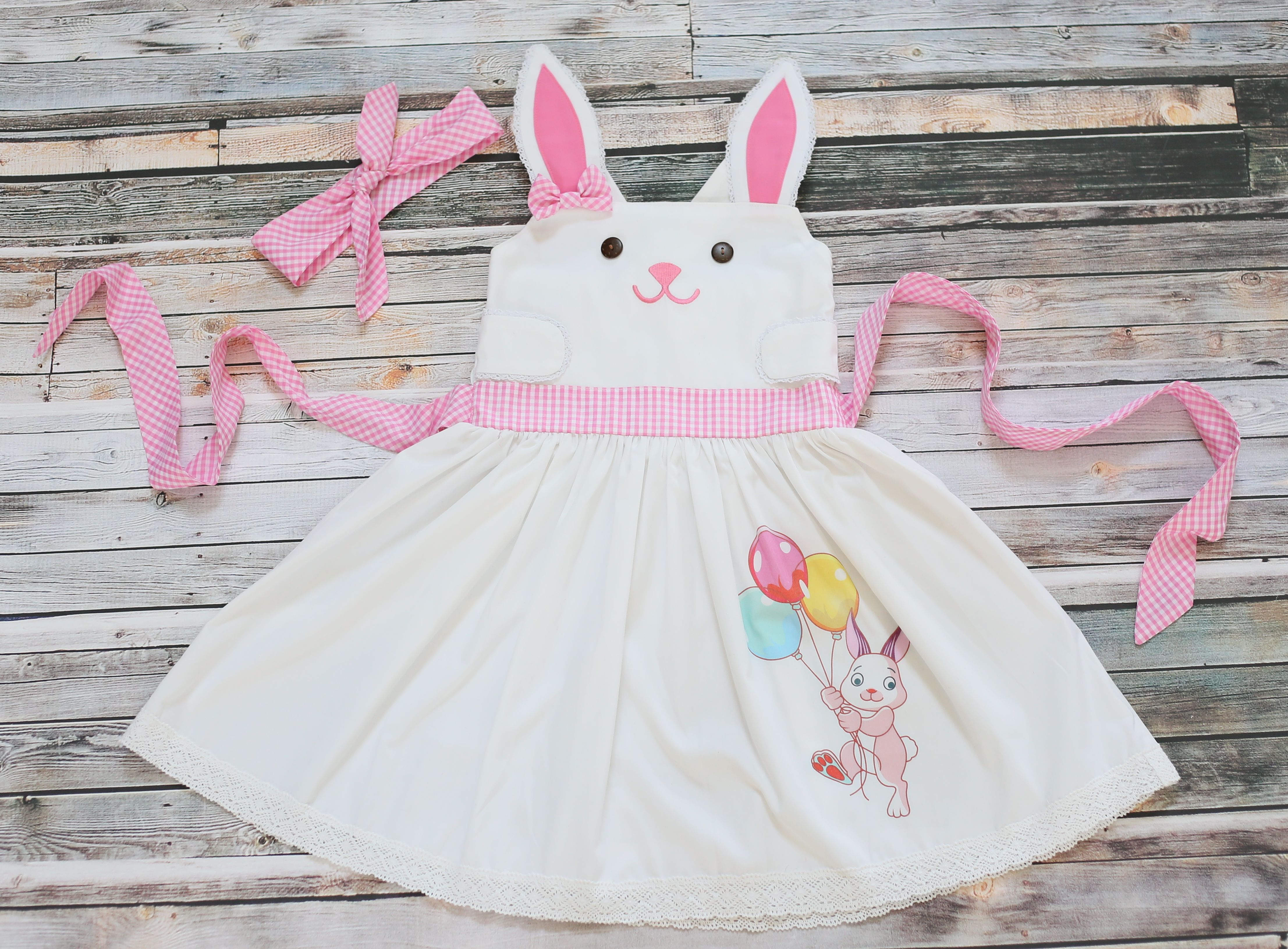 "Norma"" Bunny Dress PREORDER Be Girl Clothing girl clothing baby"