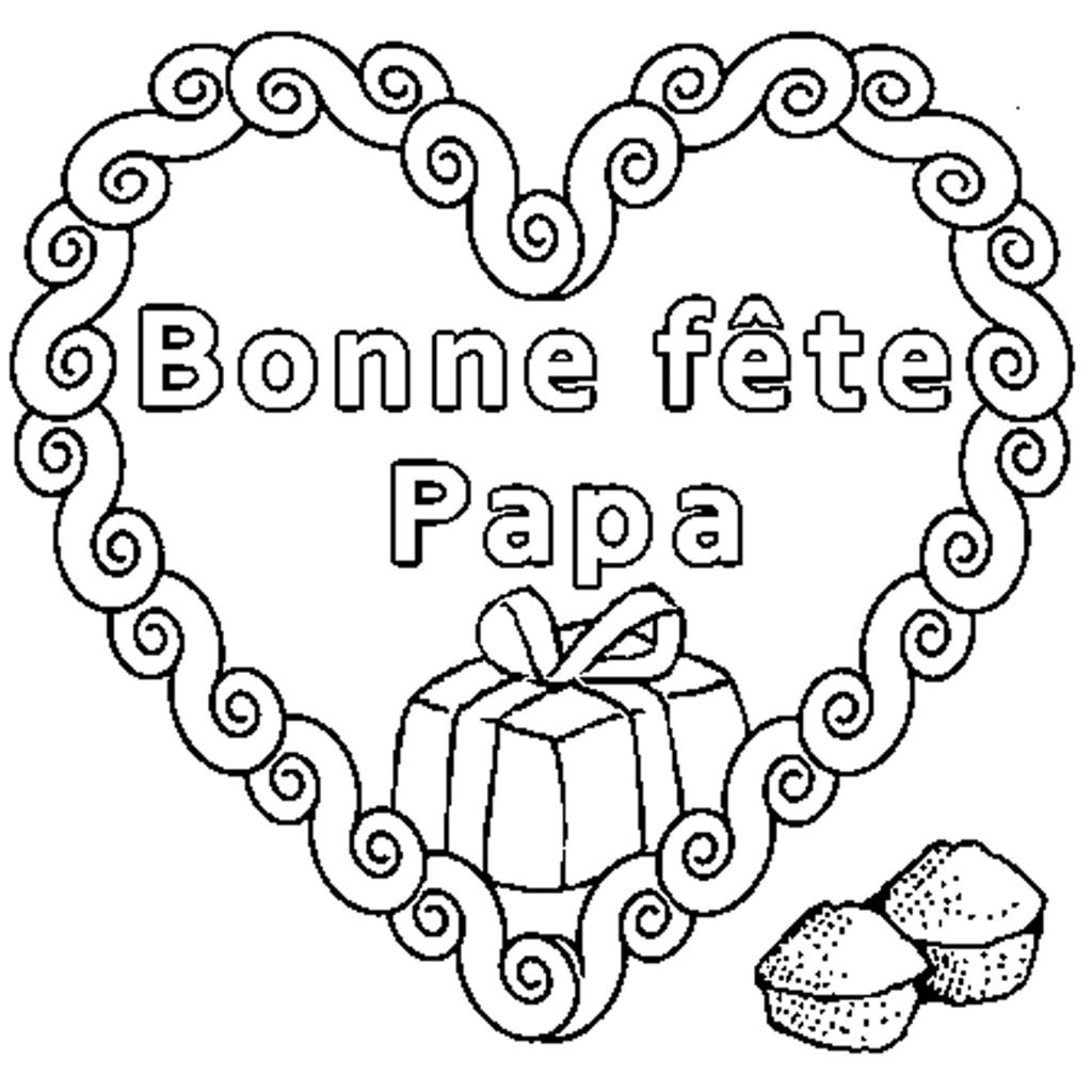 Exceptionnel Bon Anniversaire Papa Coloriage En Ligne