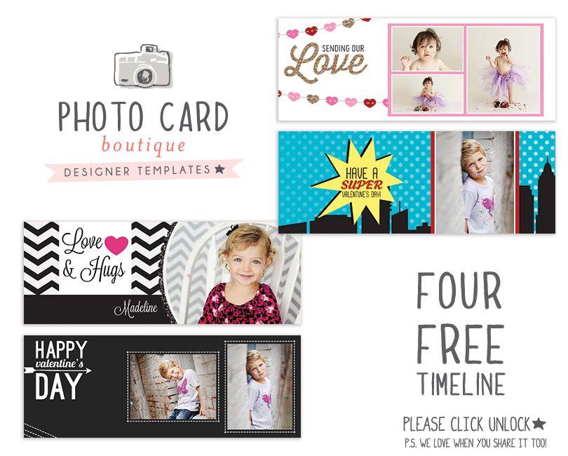Photo Card Boutique FREE Valentine Timeline Covers on Facebook – Free Valentine Cards for Facebook