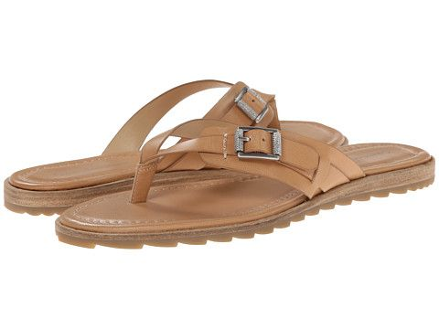 Calvin Klein Jeans Calvin Klein Jeans Opel Tan Leather Womens Sandals for  62.99 at Im in