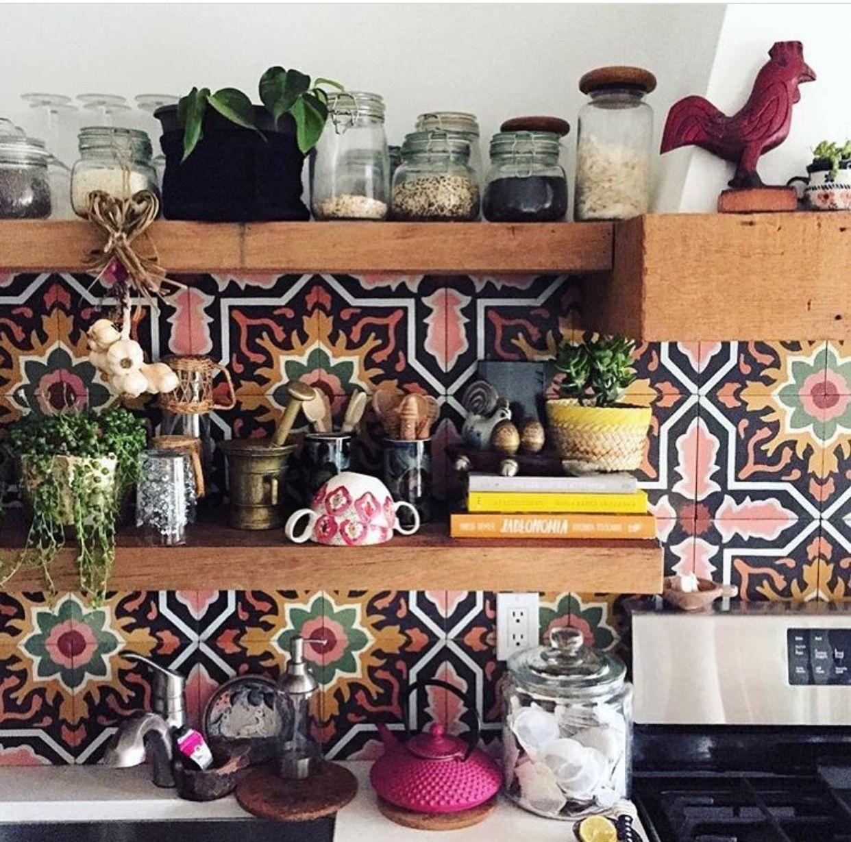 The Jungalow   Nest   Pinterest   Küche, Fliesen und Einrichtung