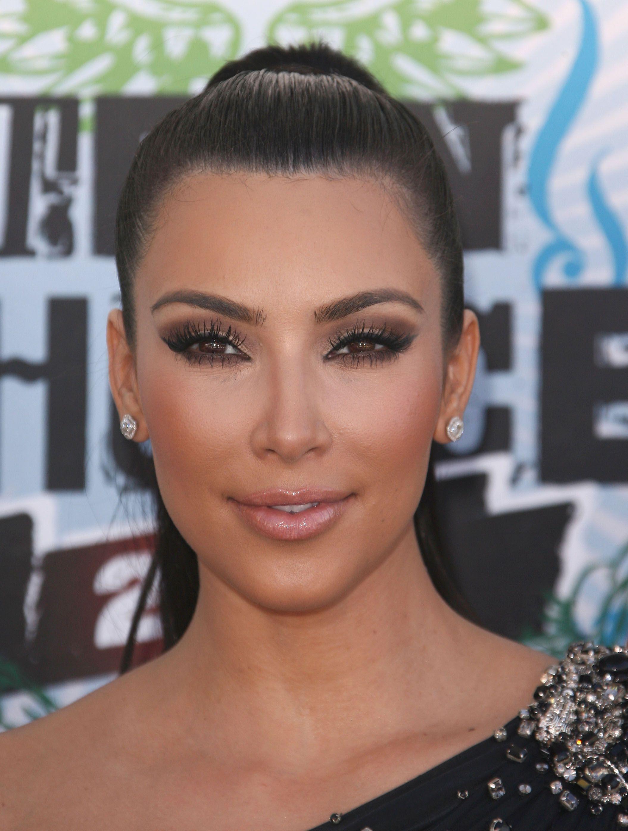 Kim Kardashian Brown Smokey Eye Tutorial - Kim Kardashian ...