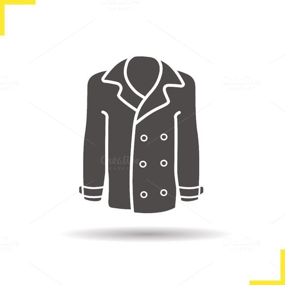 Coat icon. Vector by @Graphicsauthor