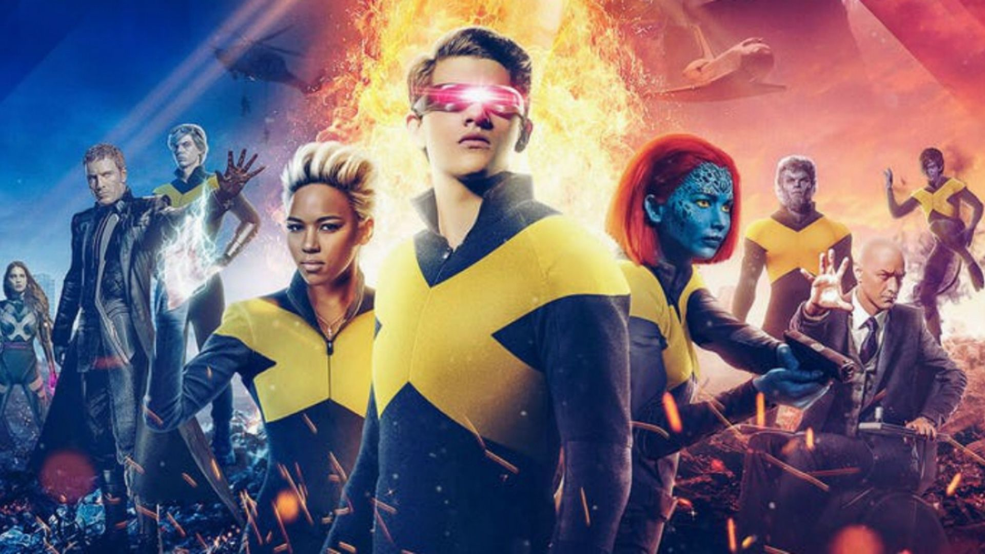 X Men Dark Phoenix Creative Team Want Us To Believe The Film Was Planned As The End Before Disney Bought Fox Geektyrant Dark Phoenix X Men The New Mutants