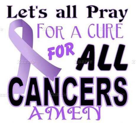 Let's all pray for a cure to all cancers | Cancer | Cancer