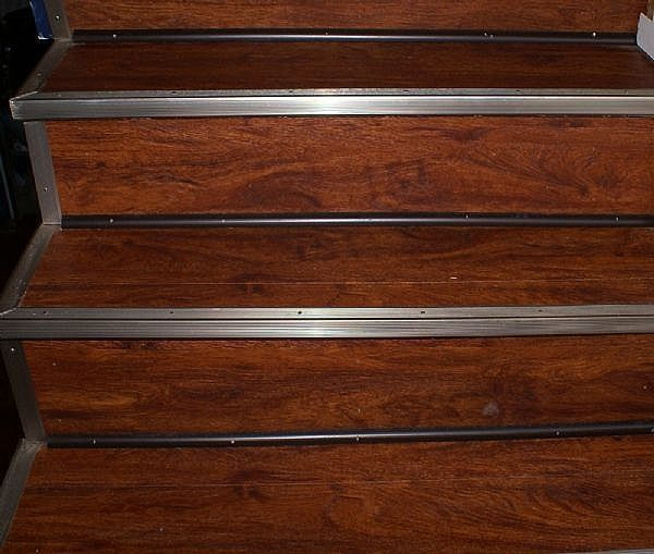 Allure Resilient Floor Done On Stairs Not Sure What I Think Of This VinylWood