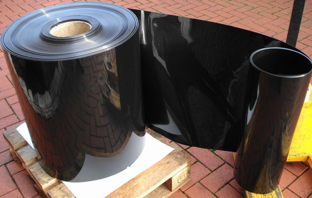10 M Pet A Folie Schwarz 0 45 Mm X 530 Mm Tiefziehfolie Vakuum