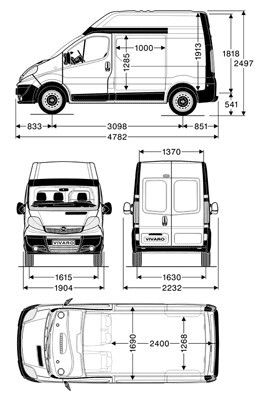 vivaro l1h2 vivaro trafic primastar t5 pinterest caravan ideas and rv. Black Bedroom Furniture Sets. Home Design Ideas