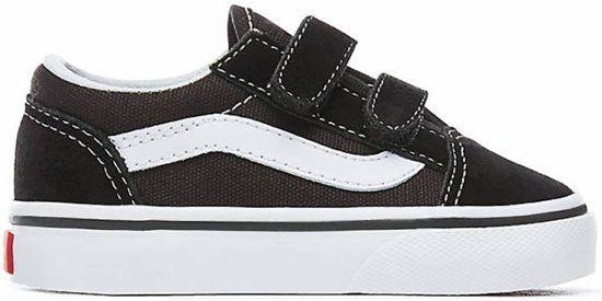 7605b539f2240d Vans OLD SKOOL Sneakers Kinderen - Black