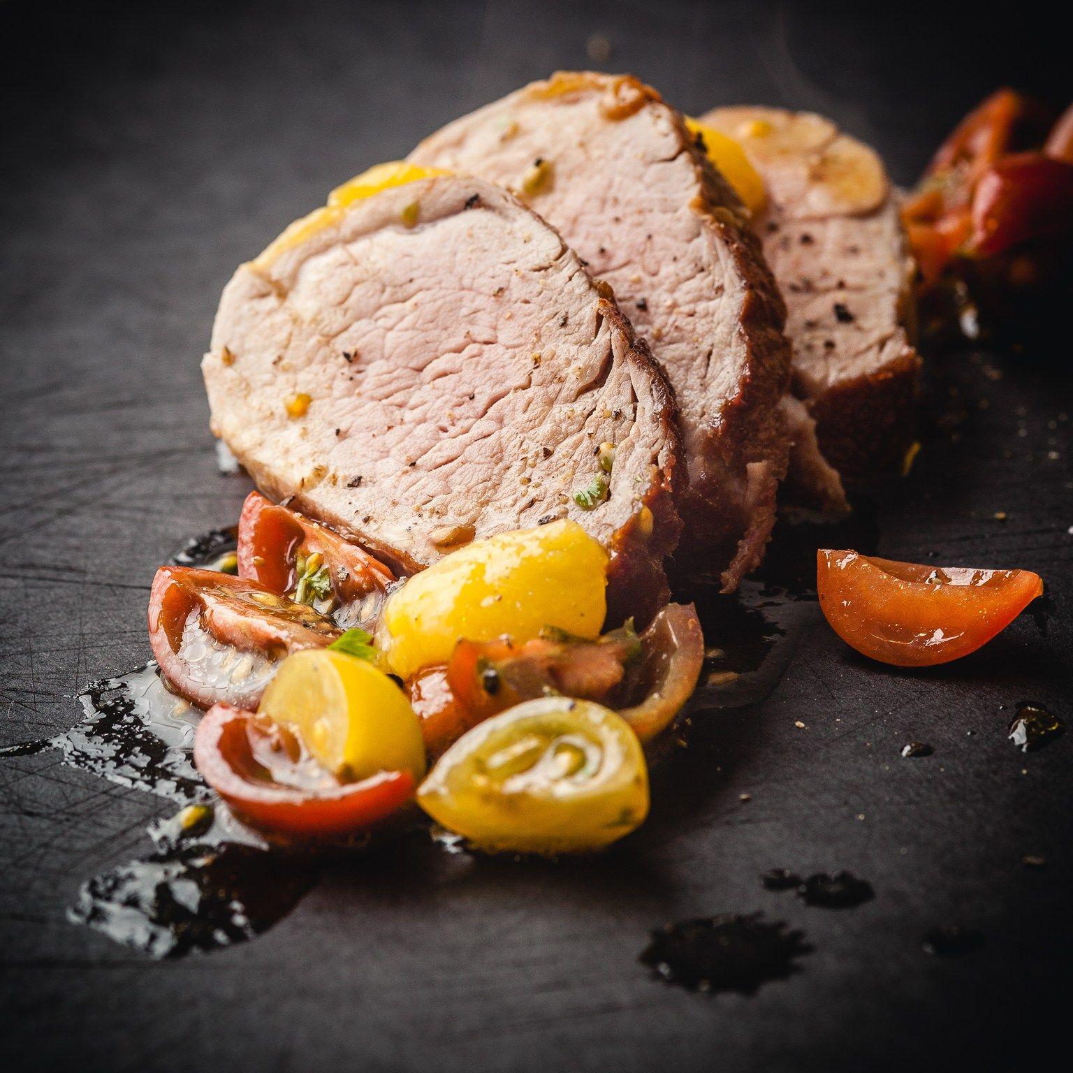 Pork Tenderloin Sous Vide 58C 3hr and Mango Habanero Sauce | Sous vide recipes, Sous vide, Pork ...