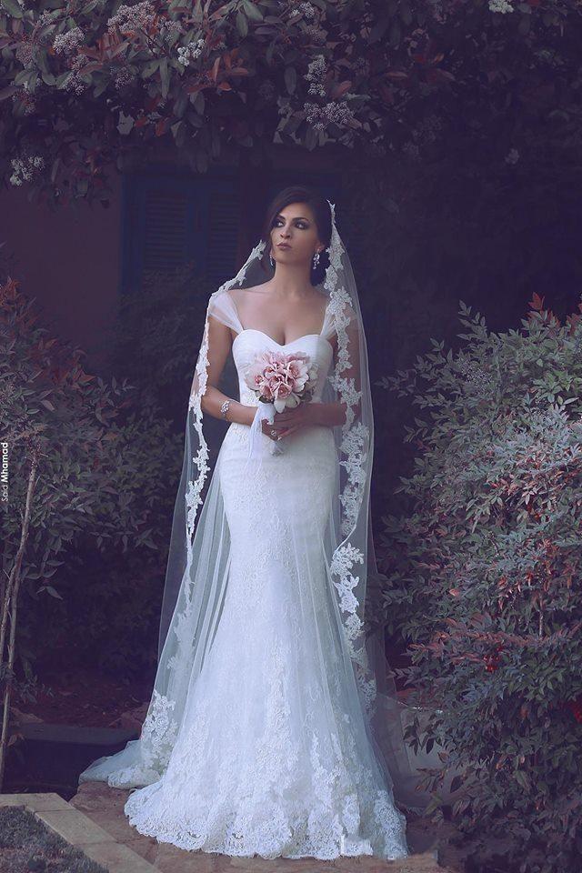 Vintage Cheap Mermaid Wedding Dresses 2016 Sweetheart Cap Sleeves ...