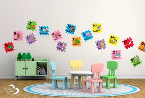 Pin By Big Heart Decals Inc On Big Heart Educational Wall Decals