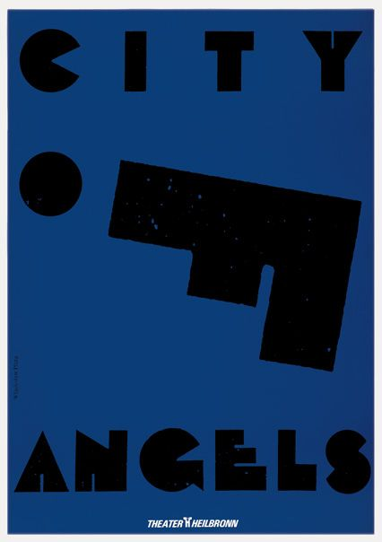 City Of Angels Prof Władysław Pluta Typo W 2019 Plakat