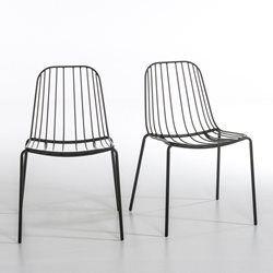 Chaise métal (lot de 2) Bop AM.PM - Mobilier de jardin | Outdoor ...