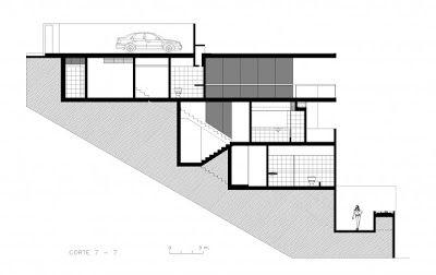Casas en pendiente negativa buscar con google ramp - Casas en pendiente ...