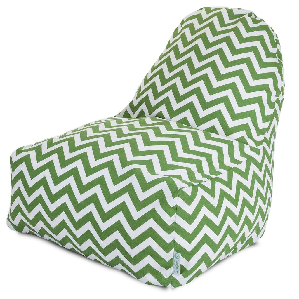 Phenomenal Majestic Home Goods Chevron Indoor Outdoor Kick It Chair Pabps2019 Chair Design Images Pabps2019Com