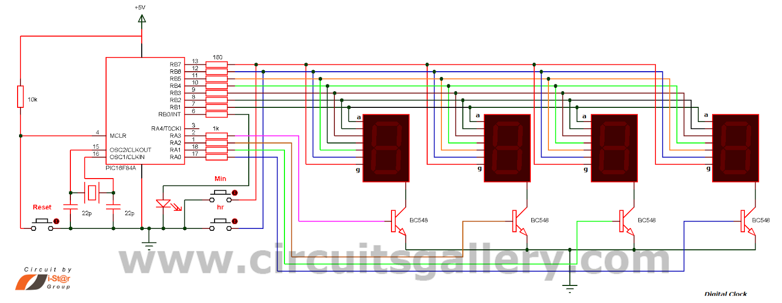 Real Time Clock Circuit Using Mircocontroller Pic16f84a Gallery Of Working Hybrid Cars Electronic Circuits And Diagramelectronics Projects Providing Lot Diy Diagrams