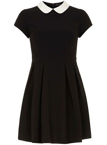 4c61157fb05f Black/white collar dress | Wardrobe/fashion | White collar dress ...