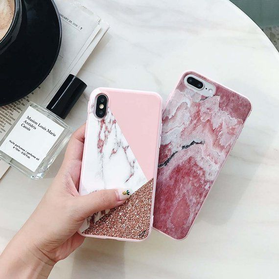 iphone xs silicone case clear pattern