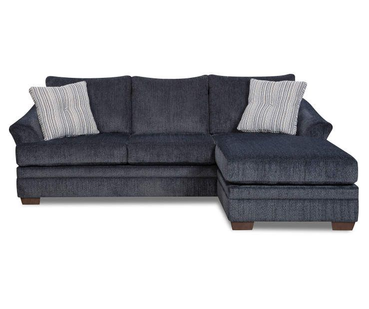 Best Simmons Judson Slate Sofa Chaise Chaise Sofa Living 640 x 480