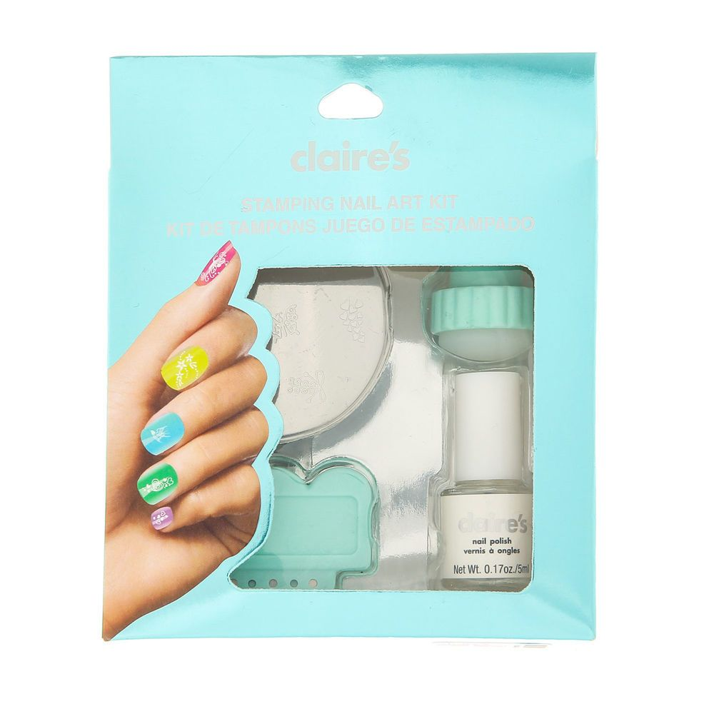 Mint Stamping Nail Art Kit: This set includes 3 x nail art design ...